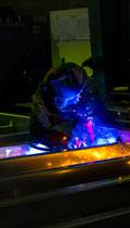 Fabrication des modules en usine