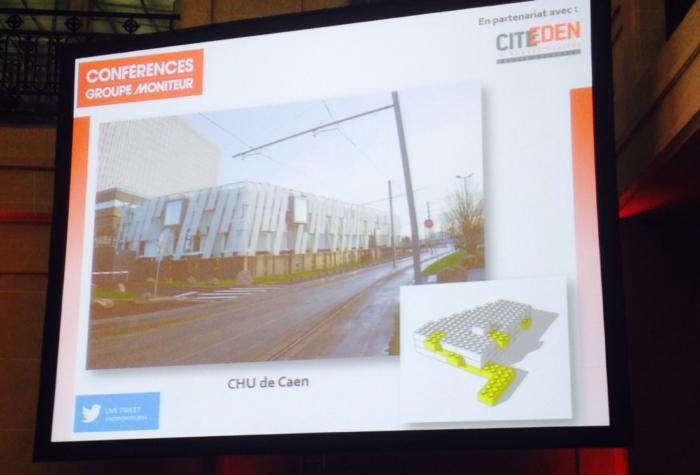 CHU de Caen présenté à la conférence du Moniteur