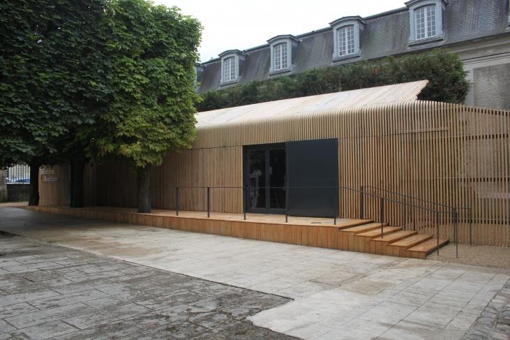 Extension pour un musée