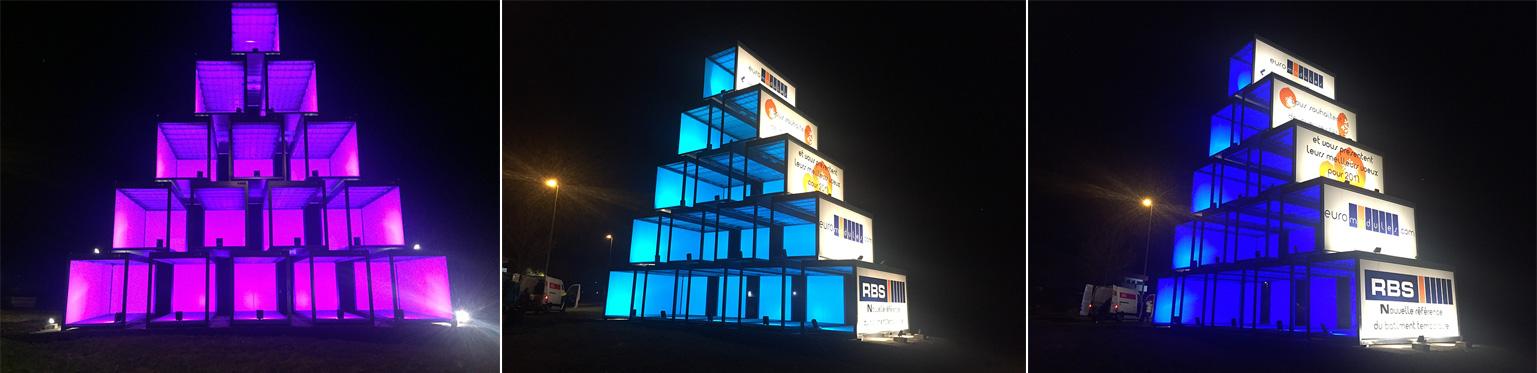 Pyramides de modules colorés RBS